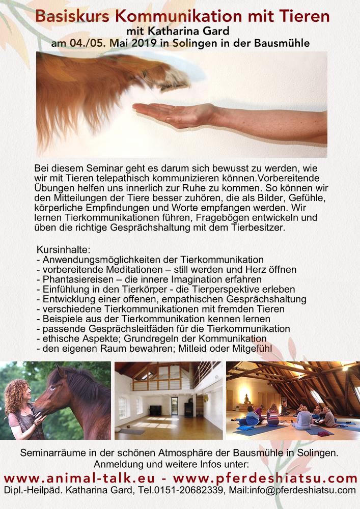 Tierkommunikation Solingen Web